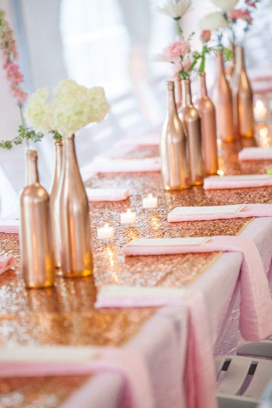 The beauty of rose gold weddings a monique affair